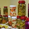 Samples of the different kind of pickles Amina prepares. - 30 January 2017- Sidi Bishr - Alexandria, Egypt