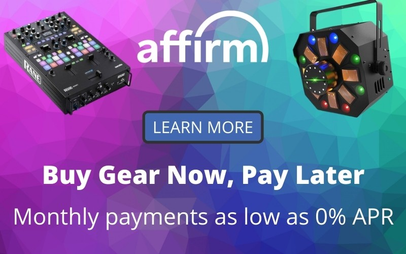 EMI Audio Affirm Financing options
