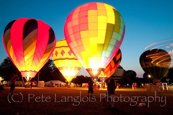 Balloon Night Glow