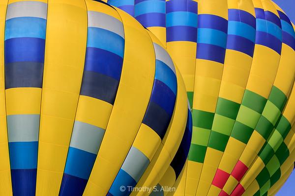 Yellow, Blue, Green