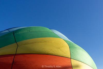 Two Rising Balloons