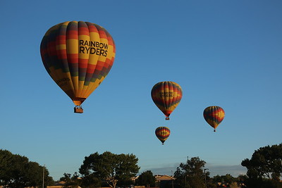 Hot Air Balloons by Rainow Ryders Albuquerque