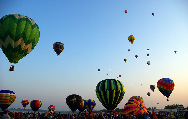 Adirondack Balloon Festival 2008