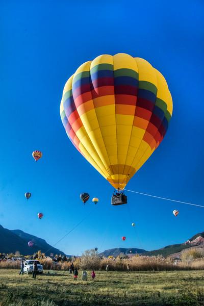 Tethered balloon rides!