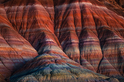 Otherworldly colors and lines on display in Utah