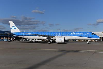 New E195-E2, delivered on February 27, 2021