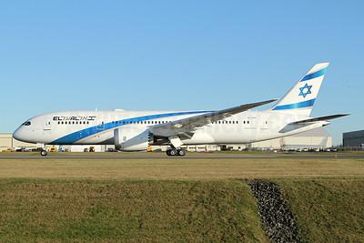 """Ramat Hasharon"", El Al's first 787-8 Dreamliner"
