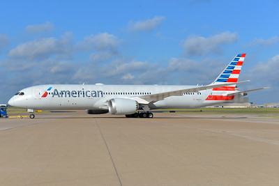 American's first Boeing 787-9 Dreamliner, delivered on September 13, 2016