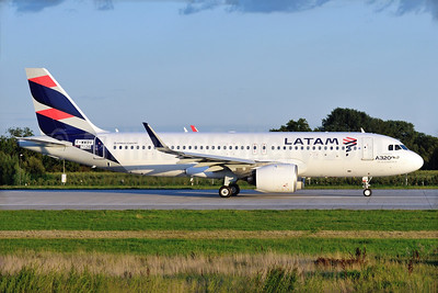 First Airbus A320neo for South America, delivered on August 29, 2016