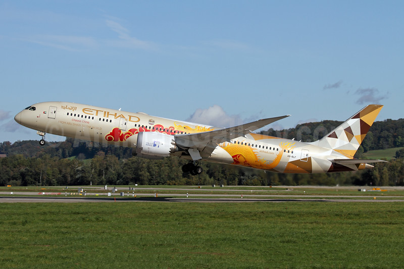"""Etihad's 2019 """"Choose China"""" special livery"""