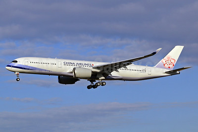The first Airbus A350-900 for China Airlines is due for delivery on September 30, 2016