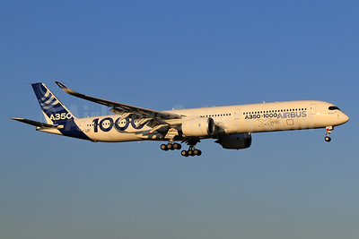 The Airbus A350-1000 Prototype