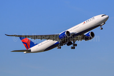 Delta's first Airbus A330neo, became N401DZ