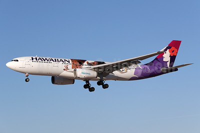 "Hawaiian's 2016 promotional ""Disney Moana"" livery"