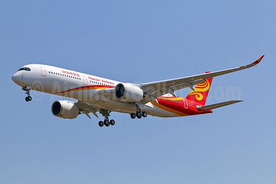 First Airbus A350-900 for Hainan Airlines