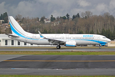 Second Boeing 737-8 MAX 8 for Enter Air