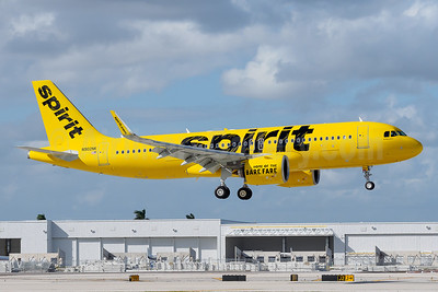 Spirit's second Airbus A320neo, delivered on October 14, 2016