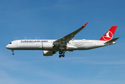 First Airbus A350-900 for Turkish Airlines
