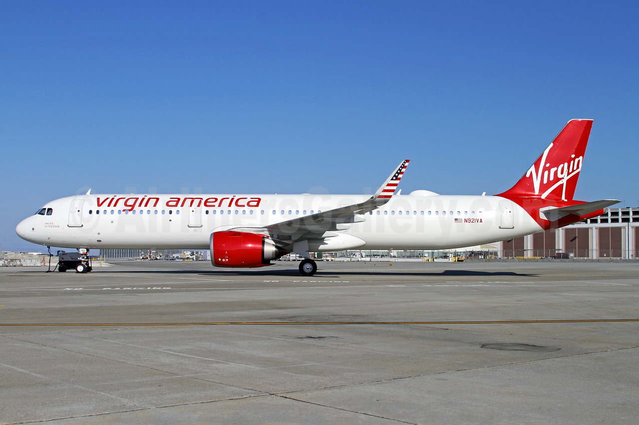"""1st Airbus A321, named """"Neo kid on the block"""""""