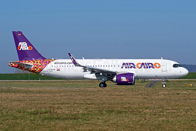 First A320neo for Air Cairo, will become SU-BUK