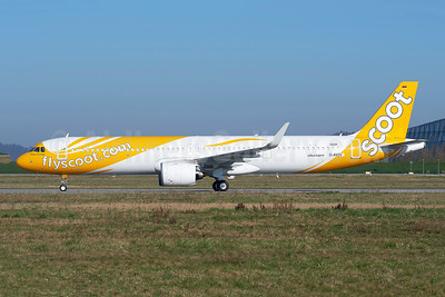 First Airbus A321neo for Scoot, will become 9V-NCA