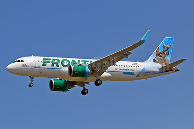 The first Airbus A320neo for Frontier Airlines