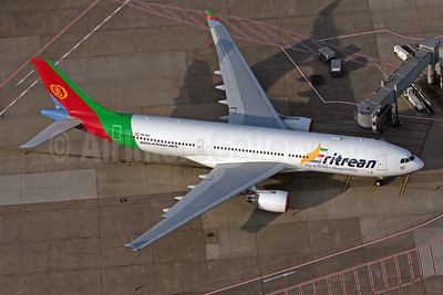 Eritrean's first Airbus A330 in a new livery