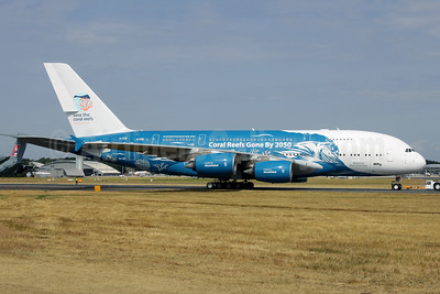 """2018 """"Coral Reefs Gone By 2050"""" livery (right side)"""
