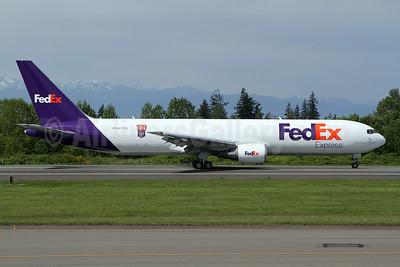 """""""100th Boeing 767 FedEx"""" special logo"""