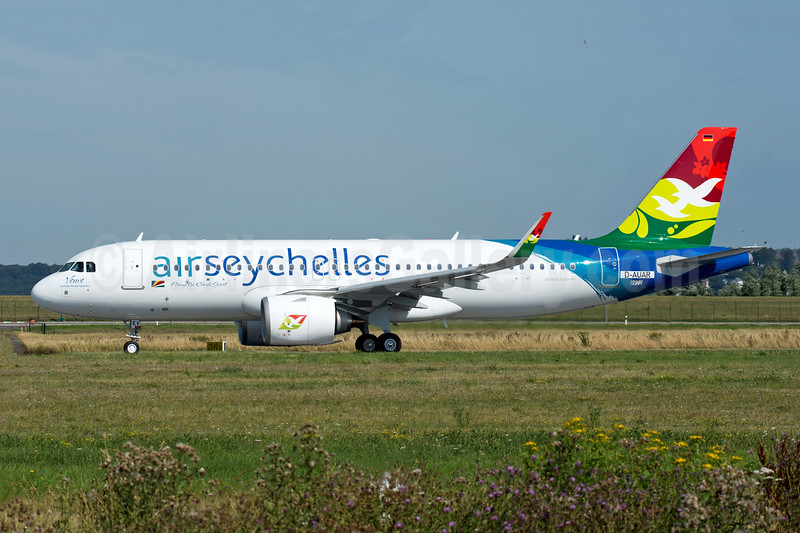 First Airbus A320neo for Air Seychelles