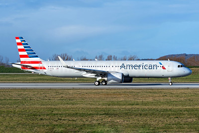 First AA Airbus A321neo, will become N400AN