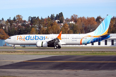 First MAX 9 for flydubai