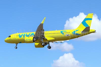 """Viva's new """"Boomerang"""" yellow livery"""