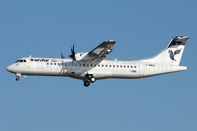 The first ATR 72-600 for IranAir