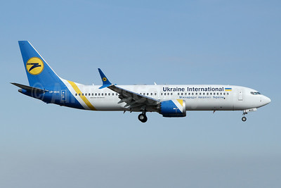 First MAX 8 for Ukraine International