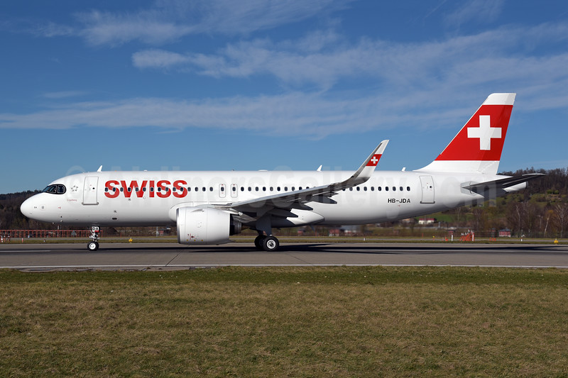 """""""Engelberg"""", 1st A320neo, delivered on February 20, 2020"""