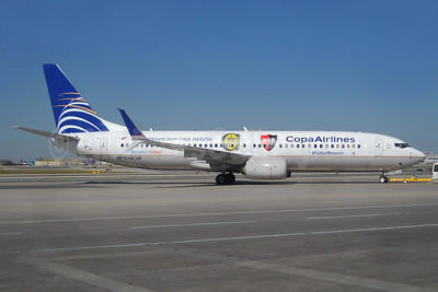Copa Airlines opens the Panama City - Rosario route on July 1, 2016 with this #FutbolRosario CARC-NOB  logo jet