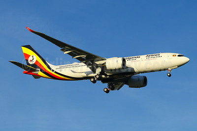"""Mt Elgon"" - new Uganda Airlines' first Airbus A330-800"