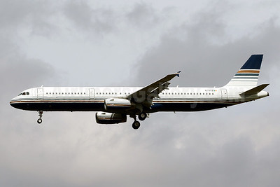 First Airbus A321, will become EC-NLJ