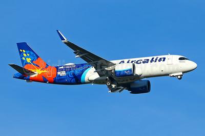 """Tibarama"", Aircalin's first Airbus A320neo"