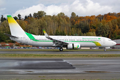 Mauritania Airlines' first Boeing 737-800
