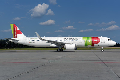 TAP's first A321neo, delivered on June 19, 2018