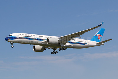 China Southern's first Airbus A350-900, to become B-308T