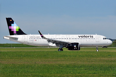 The first Volaris Airbus A320neo is delivered on September 12, 2016