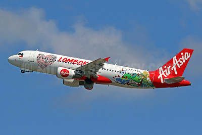AirAsia's 2019 Lombok promotional livery