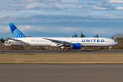 First 777-300 in the new livery