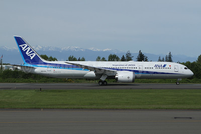 The last 787 Dreamliner to be built at Paine Field, will become JA937A