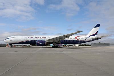 """Ojochide"", Air Peace's first Boeing 777-300"