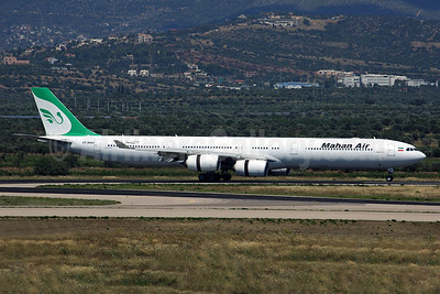 Mahan Air's first Airbus A340-600