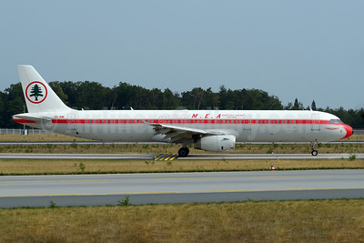 MEA's original Middle East Airlines-Air Liban retro jet
